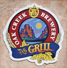 Oak Creek Brewery and Grill (Runemaker) Tags: sign oakcreekbrewery oakcreekgrill tlaquepaque sedona arizona