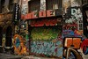 Coffee and Rainbow Dash (sonofwalrus) Tags: canon eos7d slr melbourne victoria australia alley laneway lane graffiti art streetart coffee rainbowdash wall hosierlane
