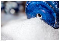 Condiment - HMM (John Penberthy LRPS) Tags: 105mm d750 johnpenberthy nikon blue closeup condiment crystals macro salt saltcellar white macromondays