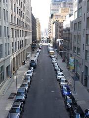 201804067 New York City Chelsea (taigatrommelchen) Tags: 20180414 usa ny newyork newyorkcity nyc manhattan chelsea highline central perspective urban city building street