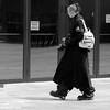 GOTHIC (Akbar Simonse) Tags: denhaag thehague agga haag lahaye sgravenhage holland netherlands nederland people candid streetphotography straatfotografie zwartwit bw blancoynegro bn monochrome square vierkant akbarsimonse gothic
