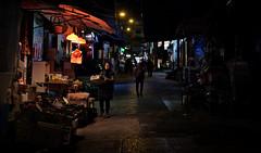 another night... (hugo poon - one day in my life) Tags: xt20 35mm hongkong central grahamstreet streetlife market citynight dark colours fruit stall vanishing urbanrenewal ura longnight longday