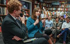 2018.03.20 Sarah McBride and Rep Joe Kennedy, Politics and Prose, Washington, DC USA 4114