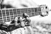 Stretching hand (Javier Palacios Prieto) Tags: stretch hand music guitar