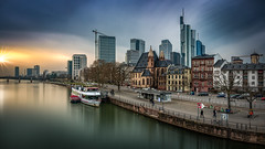 Frankfurt am Main (Bernd Thaller) Tags: frankfurtammain frankfurt main city river riverside sky sunset cityscape outdoor houses architecture financialdistrict germany d850 highresolution