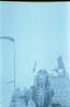 Death (romain@pola620) Tags: lomo lomography lca 100iso 100 35 35mm squelette skeleton death mort creepy eerie dark fun fair funfair film pellicule analog analogue analogique argentique low lowfi overexposed overexposure vintagecamera vintage blue bleu gris grey sky ciel paris france