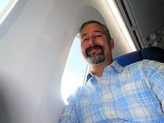 first ride on the 787-9 (kenjet) Tags: boeing 789 7879 n29968 dreamliner jet plane flugzeug airline airliner ua united ual unitedairlines aviation me kenny ken kenjet smile happy excited aviationgeek windowseat
