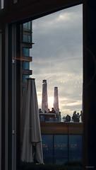 Terrasse in Abendstimmung (Demarmels) Tags: abend abendstimmung terrasse apero architektur himmel glas fenster gebäude aussicht bürgenstock bürgenstockresort licht schweiz obbürgen