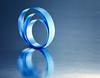 Macro Mondays - The Blues (Leslie Victor) Tags: img8390 macromondays theblues ribbon reflection light macro