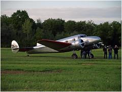 Lockheed 12A Electra Junior - F-AZLL (Aerofossile2012) Tags: people lockheed 12a electra junior fazll avion aircraft aviation airshow meeting laferté 2016