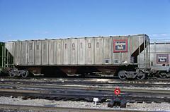 CB&Q Class LO-10 184660 (Chuck Zeiler) Tags: cbq class lo10 184660 burlington railroad covered hopper freight car cicero train chuckzeiler chz