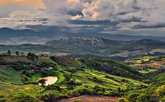 Sanare. (frank olayag) Tags: cultivos nikon paisaje sanare lara montañas cordilleraandina nubes frankolaya atardecer laguna casitas vegetacion airelibre naturaleza montes laderas
