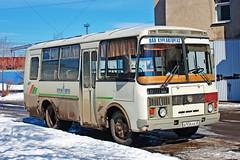 PAZ-32053  B 936 KB 45 (RUS) (zauralec) Tags: курган улица город автомобиль автобус kurgancity streetradionova paz32053 b 936 kb 45 rus
