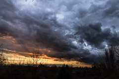 Rare clouds (Zap927) Tags: sky clouds sunset 1018 canon 800d