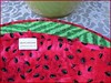829_Watermelon Table Topper_j (QuiltinWaYnE) Tags: quilted handmade kitchentabledecor diningtabledecor coffeetabledecor tablemat tabletopper tabledecor quiltedtabletopper quiltsy etsyseller etsyquilter etsy etsyshop etsyhandmade qqqetsy quiltedtabledecor tablelinen handmadequilt tablequilt watermelon
