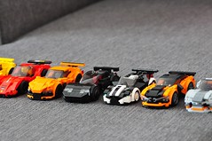 Supercar collection (Daniel..75) Tags: car voiture lego ferrari porsche speed wallpaper base tuning star wars moc photo sport berline 4x4 luxe paysage art creation