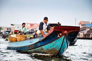 Floating Market; Can Tho, Mekong Delta