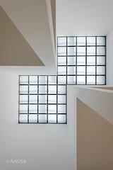 Oberlicht des Turms I (ARTUS8) Tags: flickr innenarchitektur interiorarchitecture linien lines minimalismus lookingup nikond800 nikon1635mmf40
