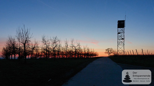 Morgenrot bei Zornheim
