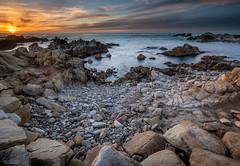 Blue & Orange (59roadking - Jim Johnston) Tags: ifttt 500px california beach rocks sunset point pinos asilomar monterey pacific grove