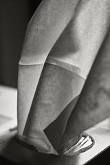 Kleenex (frntprchprss) Tags: kleenex tissue desk backlit detail texture jamesgehrt blackandwhite