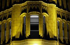 sydney building colour vs black&white (1DesertRose) Tags: architecture sydney building old colour blackandwhite black white collective street photography sandstone windows illuminated city night dark light arch