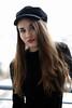 Balcony session (piotr_szymanek) Tags: marcelina marcelinab portrait outdoor face eyesoncamera woman young skinny milf longhair hat balcony 20f 1k 5k 50f 10k 100f 20k