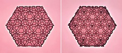 Tessellation Btt-5 (Marjan Smeijsters) (De Rode Olifant) Tags: tessellation origami paper paperfolding tessellationbtt5 marjansmeijsters hexagon triangle butterflymolecule butterfly extendedopenconnection5 tessellationbtt4