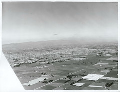 Aerial view of Palmerston North Airport with Palmerston North in the background (Archives New Zealand) Tags: archivesnewzealand archives archivesnz nationalpublicitystudios aotearoa tourism newzealand newzealandhistory nz nzhistory history