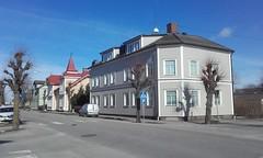Street (sebilden) Tags: sebilden vara skaraborg town house garden winter