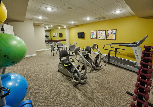 Cherrywood Pointe of Plymouth Fitness Room
