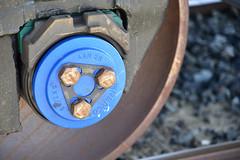 Bearing (Ian E. Abbott) Tags: railroadcar railroad rollingstock wheel axle bearing bearings