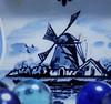 "Blue Mood/Homesick""Macro Mondays"" (marieschubert1) Tags: windmill marbles homesick mood color feeling the blues ""macro mondays"""