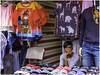 Selling garments (Luc V. de Zeeuw) Tags: garments saleswoman sellinggarments bridgetown saintmichael barbados