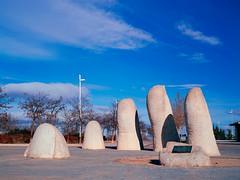 Parque Juan Carlos I, Madrid. (fcuencadiaz) Tags: analogica fotografiaargentica film formatomedio fotografiaquimica plustek diapositiva diapositivasescaneadas velvia madrid brónica