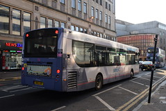 FG 67749 @ Union Street, Glasgow (ianjpoole) Tags: first glasgow alexander dennis enviro 300 sn62aof 67749 working route 9 buchanan street bus station storie paisley