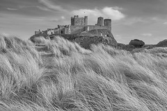Bamburgh Castle (scottprice16) Tags: england northumbria northumberland bamburgh bamburghcastle medieval historic celtic norman waroftheroses artillery armstrong victorian industrialist dunes sand rock dolerite volcanic prehistoric occupation kings kingwilliamii tourist touristattraction fujixt1 18135mm