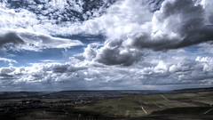 Heaven ? (ZeGaby) Tags: champagne clouds hdr landscapes marne naturephotography paysages pentax2470mm pentaxk1 vineyards mutigny grandest france fr