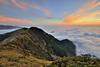 合歡山主峰~雲海夕彩~  Clouds Sunset (Shang-fu Dai) Tags: 台灣 taiwan 合歡山 主峰 3417m 雲海 seaofclouds sunset hehuan nikon d800e afs1635mmf4 夕陽 landscape 南投 formosa 雲 雲彩 火燒雲 風景