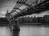 Millennium Bridge (davepickettphotographer) Tags: thames river uk england london riverthames millennium bridge southwark southbank riverside city cityoflondon cityofwestminister landscape gloomy day
