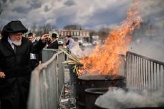 LDS_3192 (Baltimore Jewish Times) Tags: chometz chametz burning passover pesach pimlico baltimore orthodox judaism