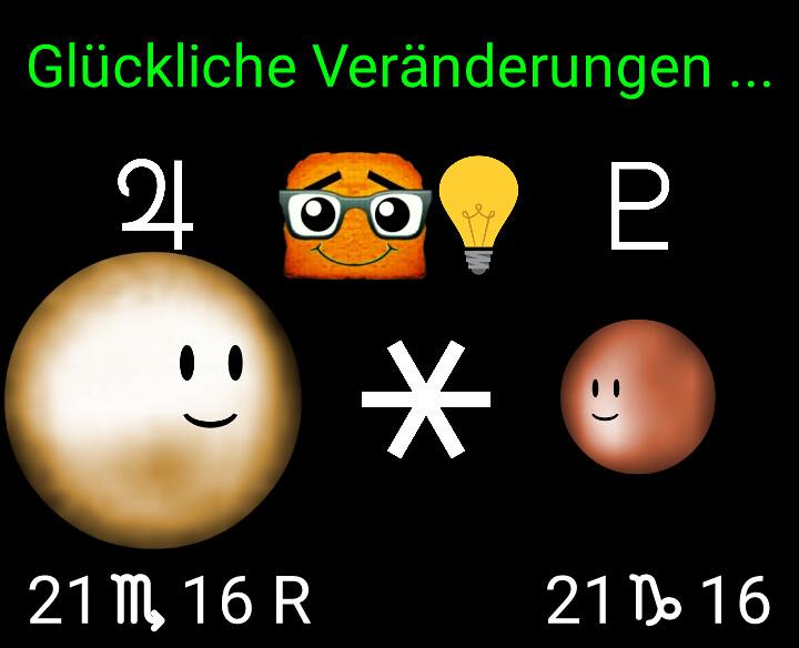 Jupiter Sextil Pluto