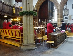 Choir practice (Dun.can) Tags: bach choir recital easter leicestercathedral cathedral leicester red
