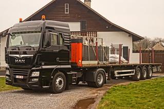 MAN TGX XLX E6 18.420 BLS - Metalcoating N.V. Beringen, België