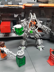 You can trust this guy with unstable Legotonium right? (I Scream Clone) Tags: lego space scifi zombie sydney brick show
