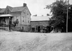 Blacksmith's forge and residence, Burritts Rapids, Ontario / Forge et résidence connexe, Burritts Rapids (Ontario) (BiblioArchives / LibraryArchives) Tags: lac bac libraryandarchivescanada bibliothèqueetarchivescanada canada blacksmith blacksmiths forgeron forgerons forge residence résidence burritsrapids ontario colbornepowellmeredith man homme wagon june151925 15juin1925