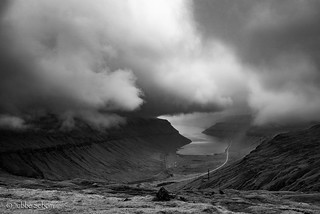 Incoming clouds somewhere in Faroes 2016