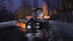 Kubota RTV X1100C (tlrichmnd) Tags: snow vehicle car winter road snowplow tree night ice landscape outdoor bulldozer nature transport tractor transportation cold motorvehicle bus forest orange dirtroad weather gravel transportationsystem freezing driving wood small automobile noperson offroading riding asphalt yellow automotiveexterior traveling offroad frost man suv reflection street buggy snowstorm automotivetire city drive kubota