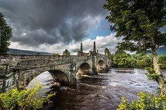 Bridge over River Tay, Kenmore, Scotland.