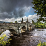 Bridge over River Tay, Kenmore, Scotland. thumbnail